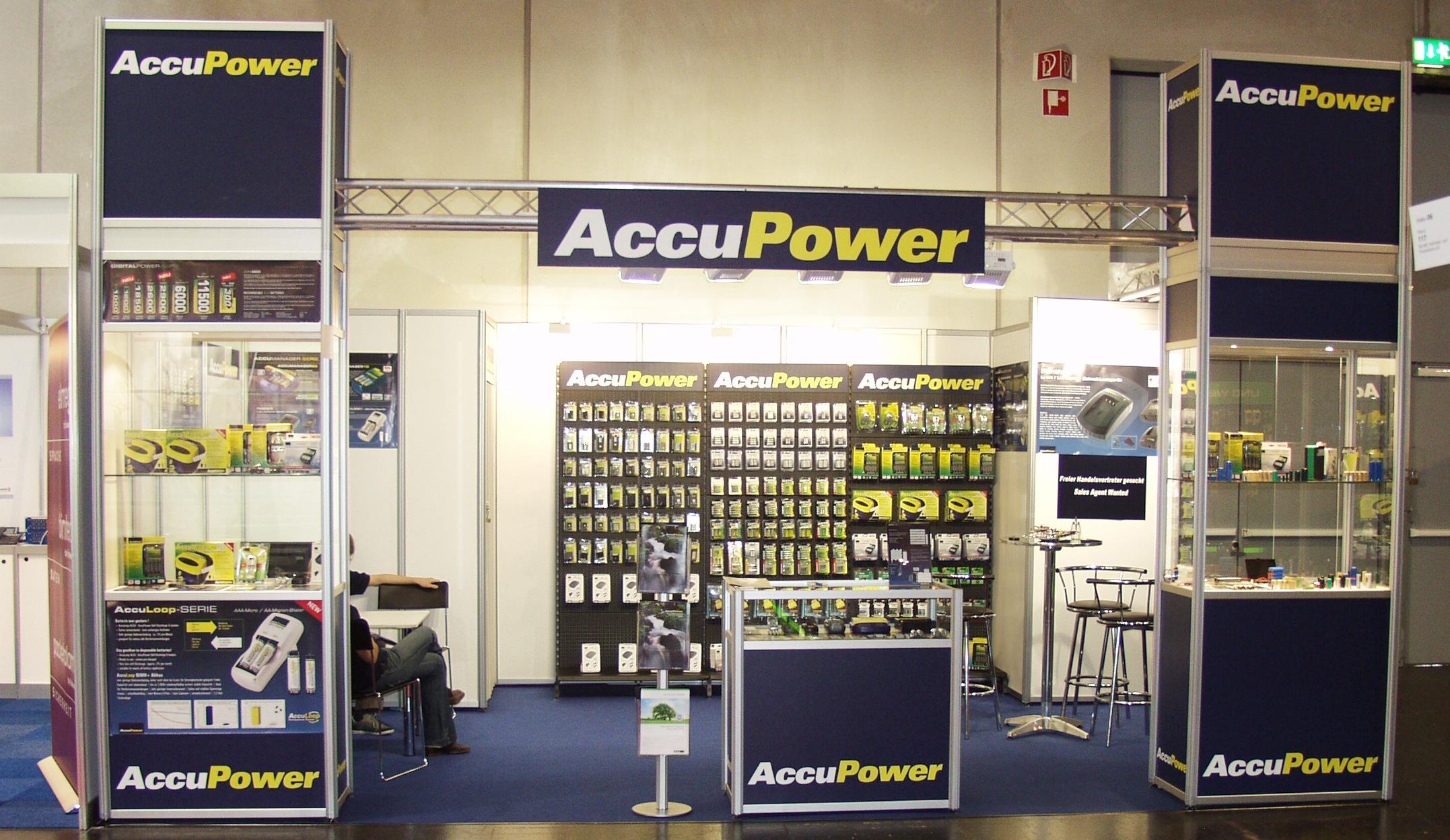 Ausstellung der AccuLoop-Akkus auf Messen in Hong-Kong. Markteinführung der weiterentwickelten AccuPower NiMH-Akkus AA/2900mAh und AAA/1200mAh.