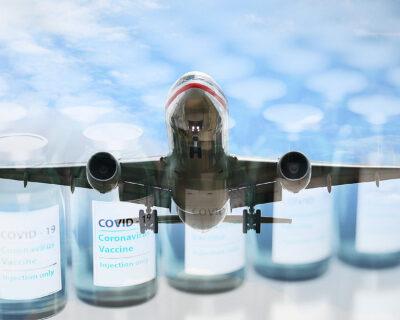 COVID-19 Impfstoffe und beiliegende Lithiumbatterien