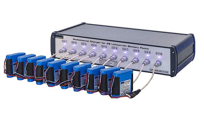 Mehrkanalladestation für 1S – 5S Li-Ion / Li-Po Akkus
