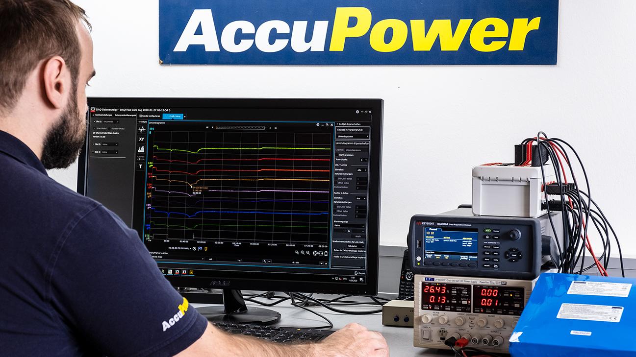 Testbetrieb bei AccuPower