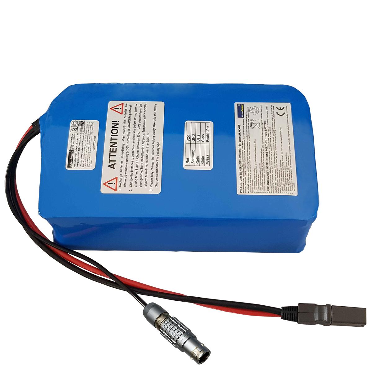 AccuPower Lithium Akku 7S13P 25,6V 37,7Ah 948,48Wh