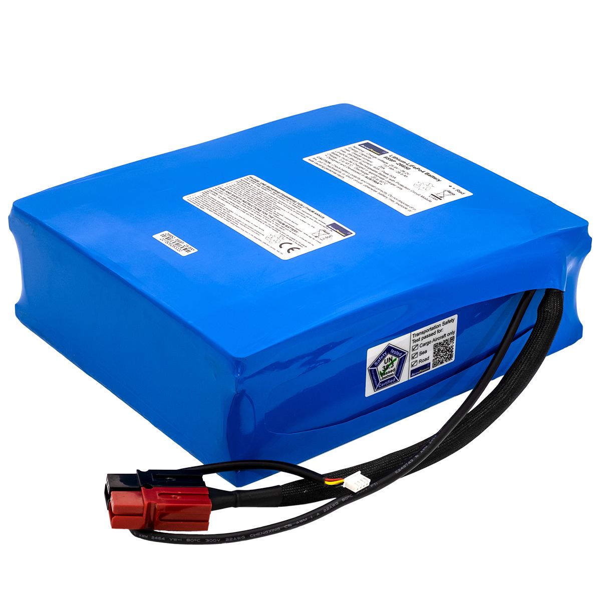AccuPower LiFePO4 Akku 8S9P 25,6V 28,8Ah 737Wh mit Schnittstelle