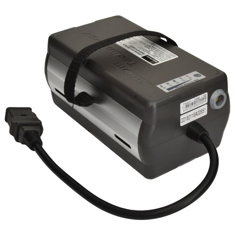 AccuPower Lithium Akku 7S4P 25,6V 11,4Ah 292Wh mit LED Ladestandanzeige und Schnittstelle