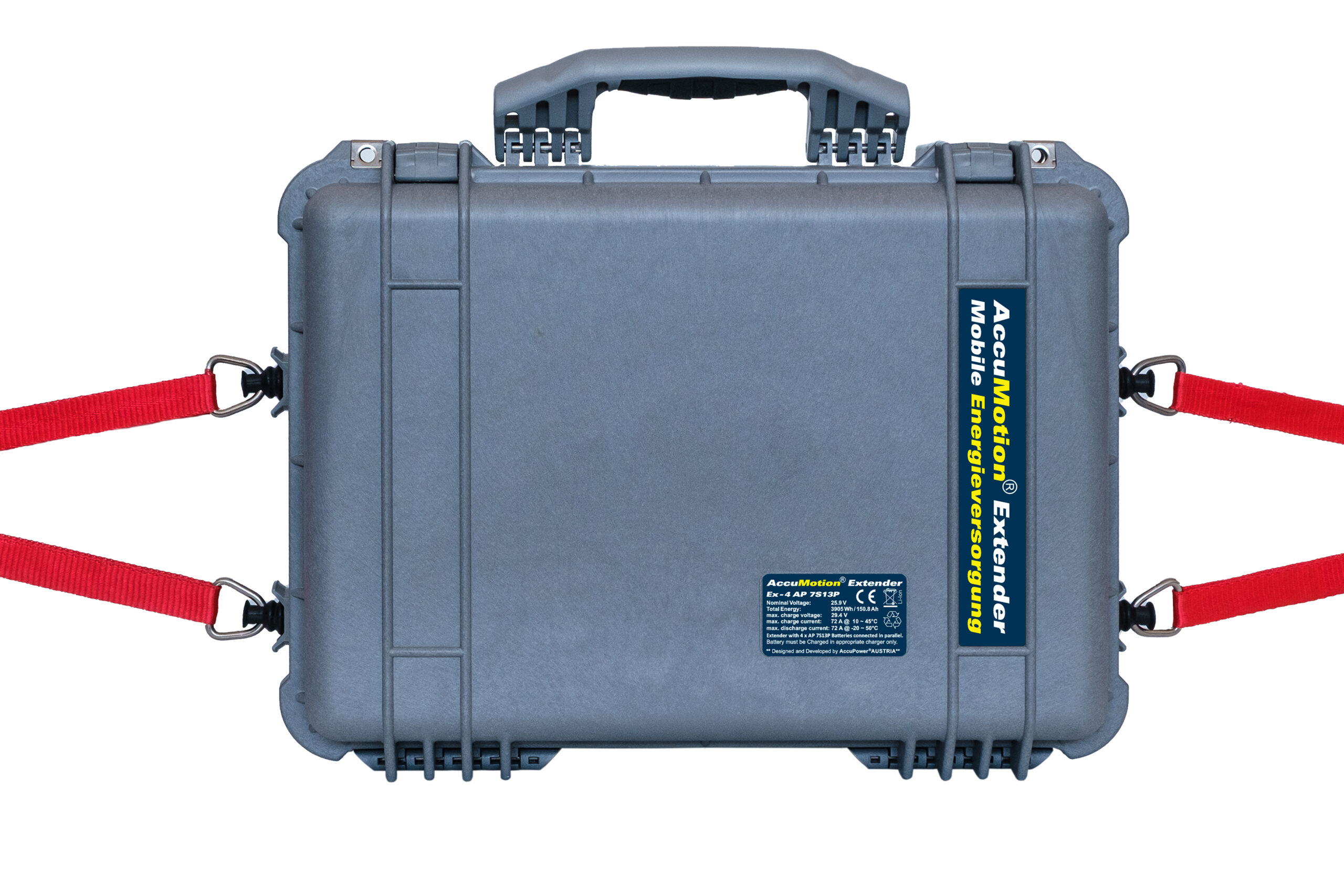 AccuMotion Extender – Mobile Energieversorgung 25,9V 150,8Ah 3905Wh